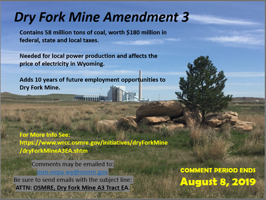 Dry Fork MineAmendment 3